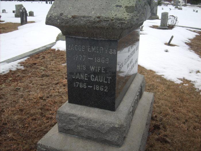 Jane <i>Gault</i> Emery