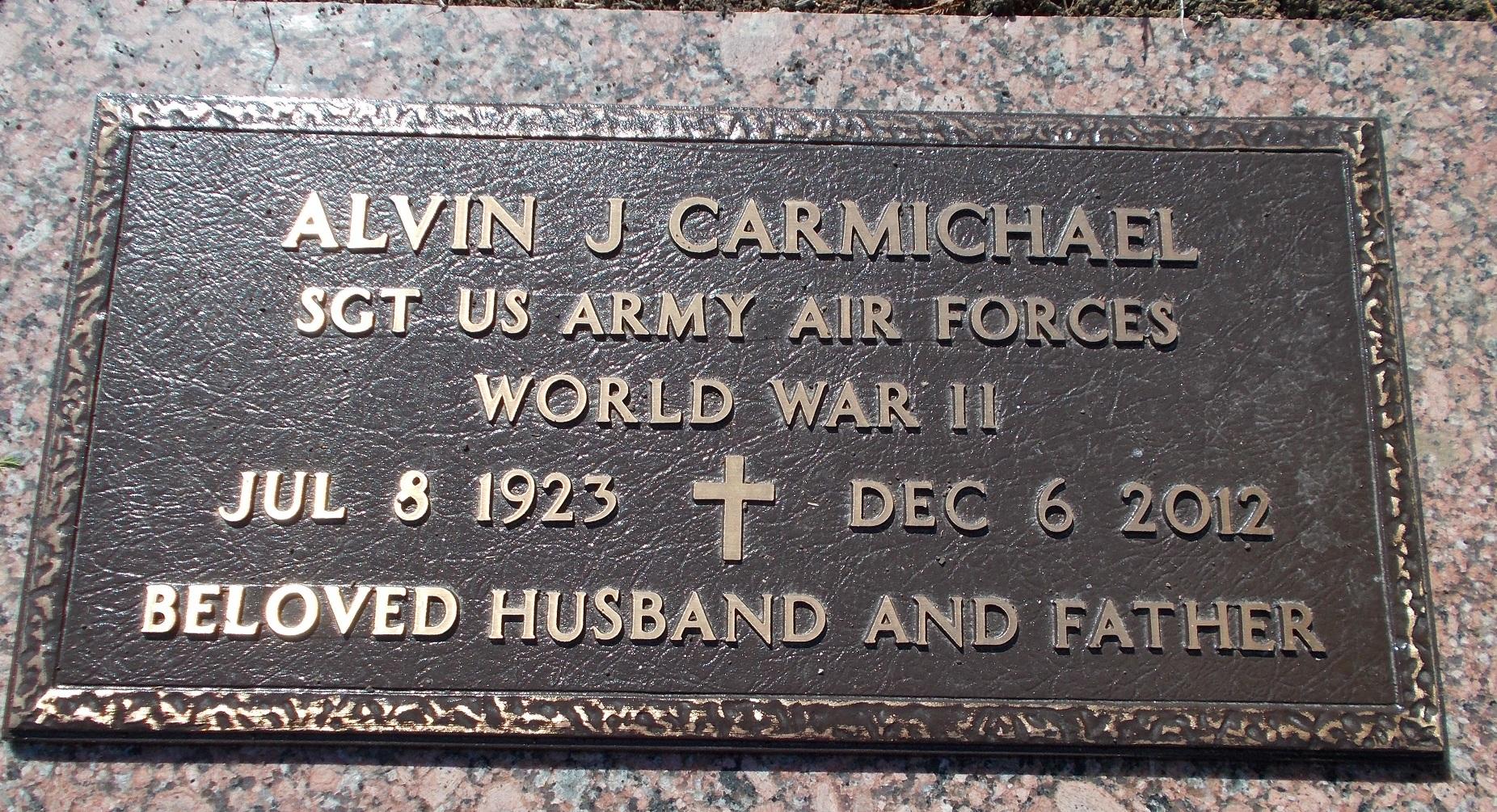 Alvin James Carmichael