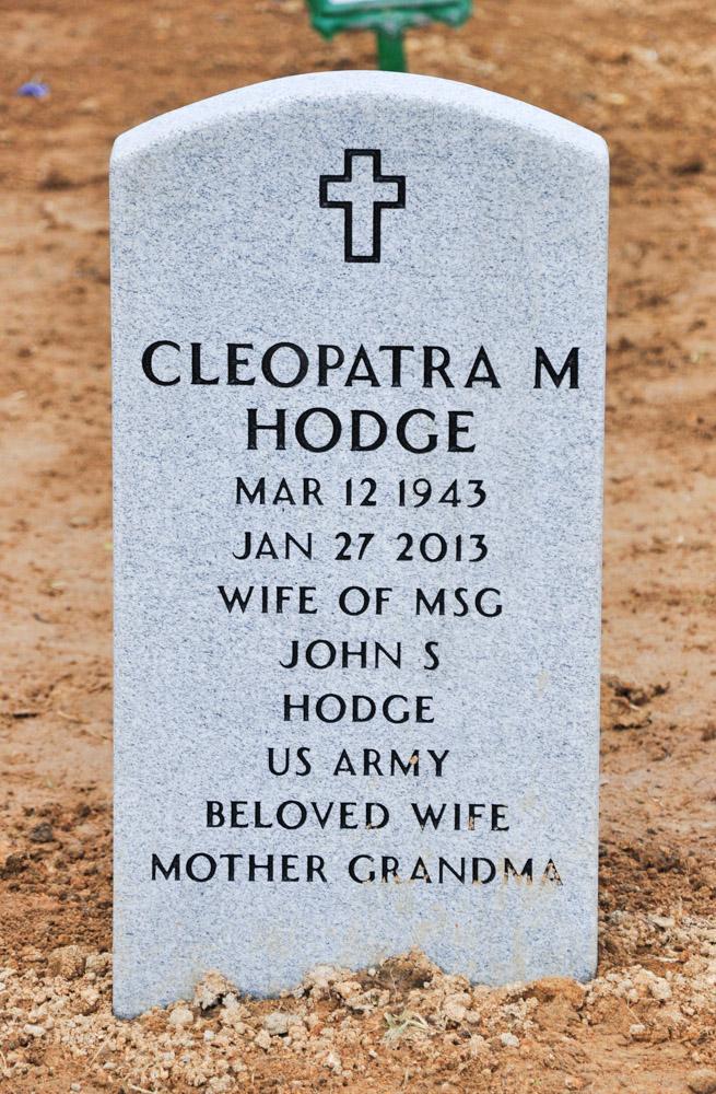 Cleopatra <i>Martin</i> Hodge