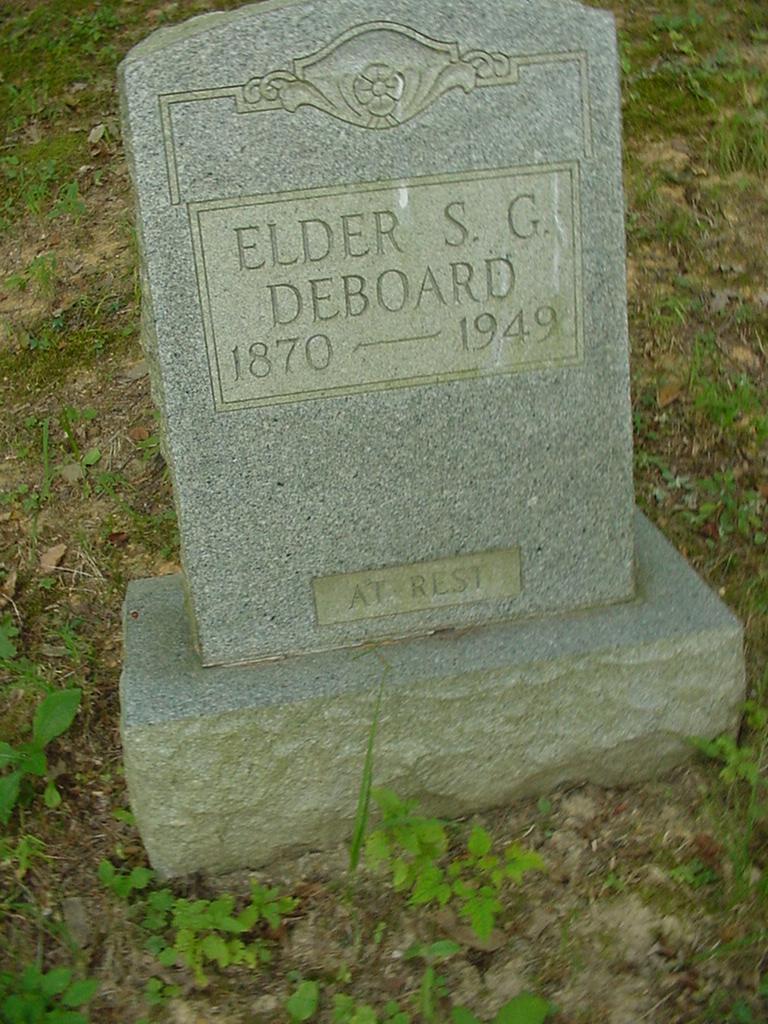 Elder S.G. Deboard
