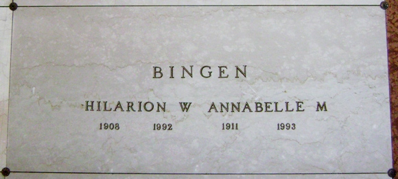 Hilarion W. Larry Bingen