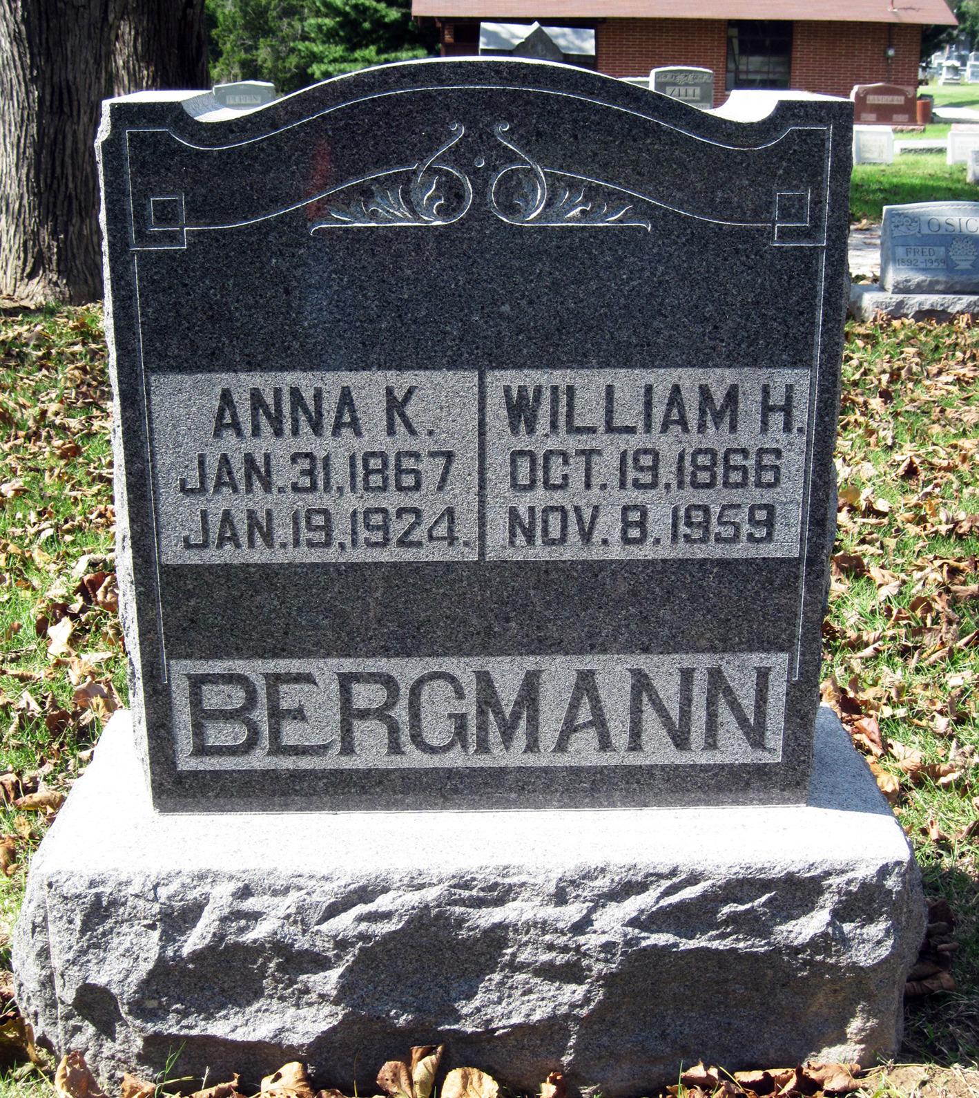 Anna K. <i>Schewe</i> Bergmann