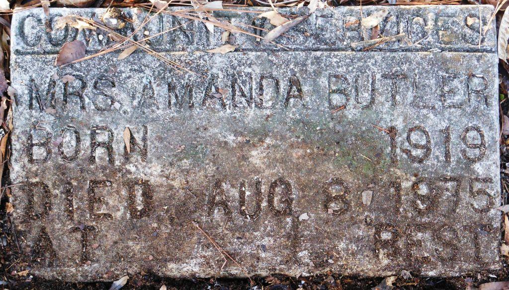 Mrs Amanda Butler