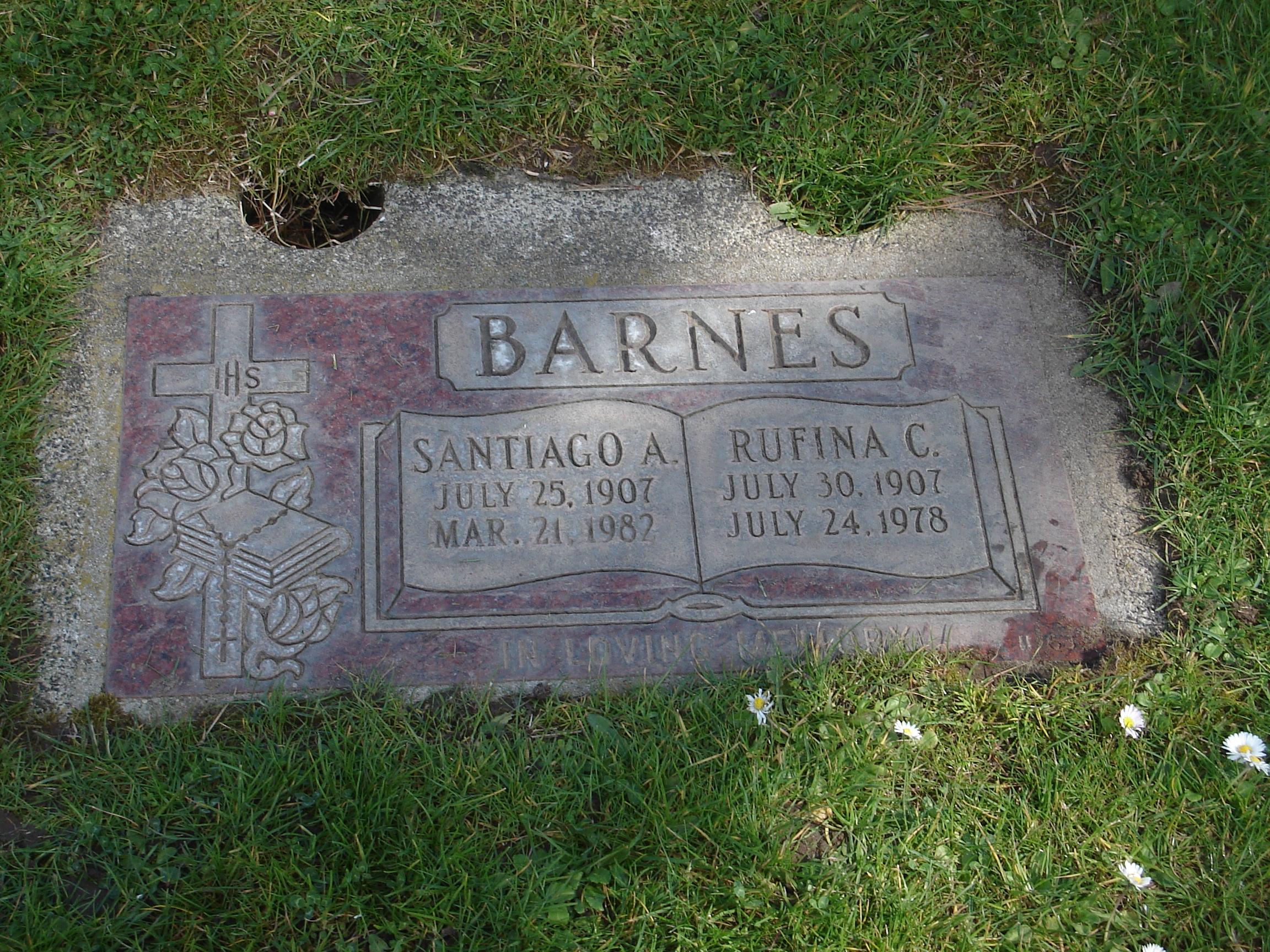 Santiago A James or Johnny Barnes