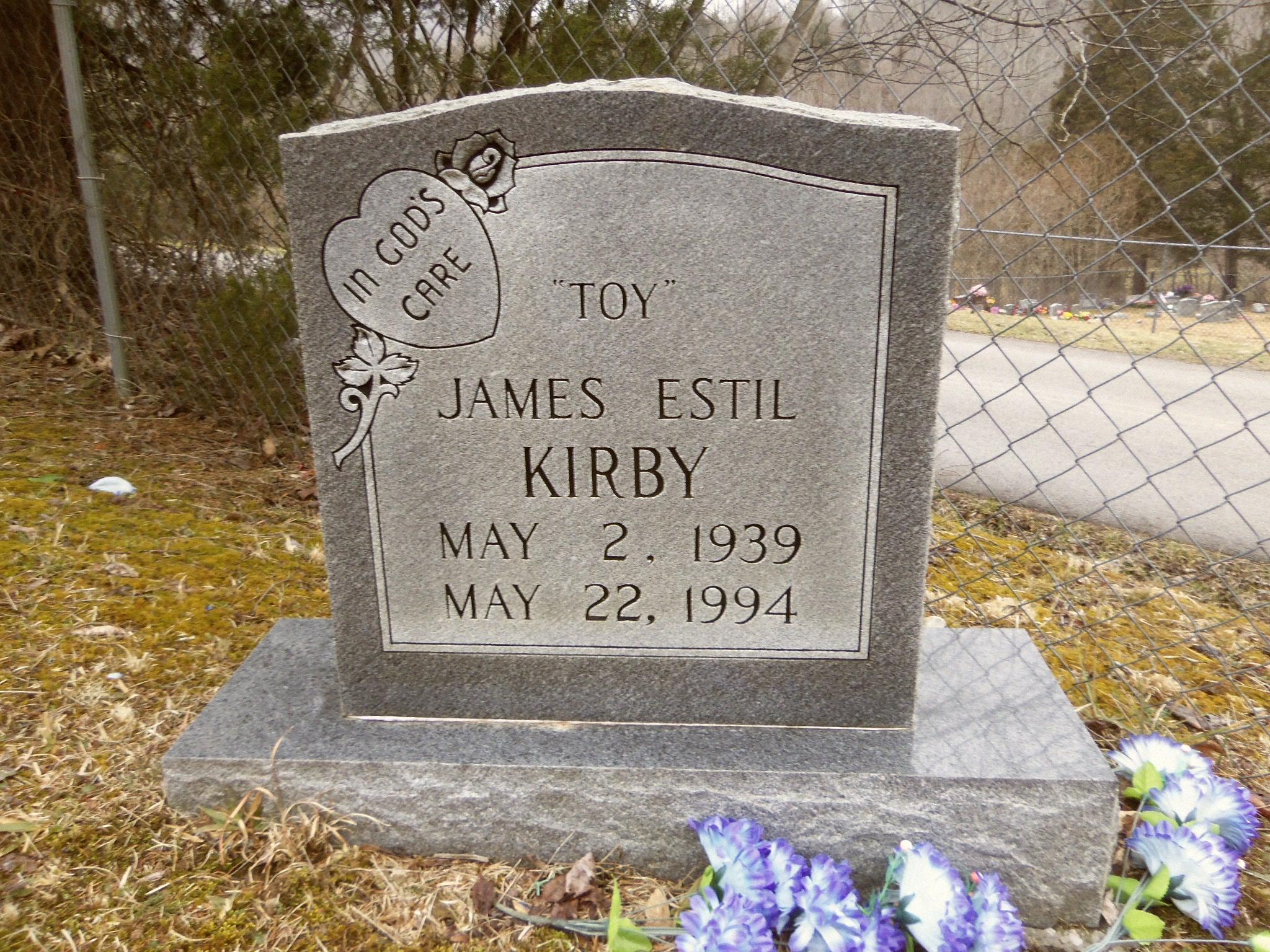 James Estil Toy Kirby