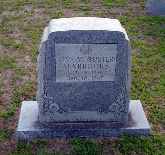 Alva V. (Buster) Alsbrooks