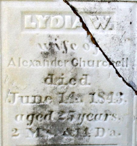 Lydia Wood <i>McKay</i> Churchell