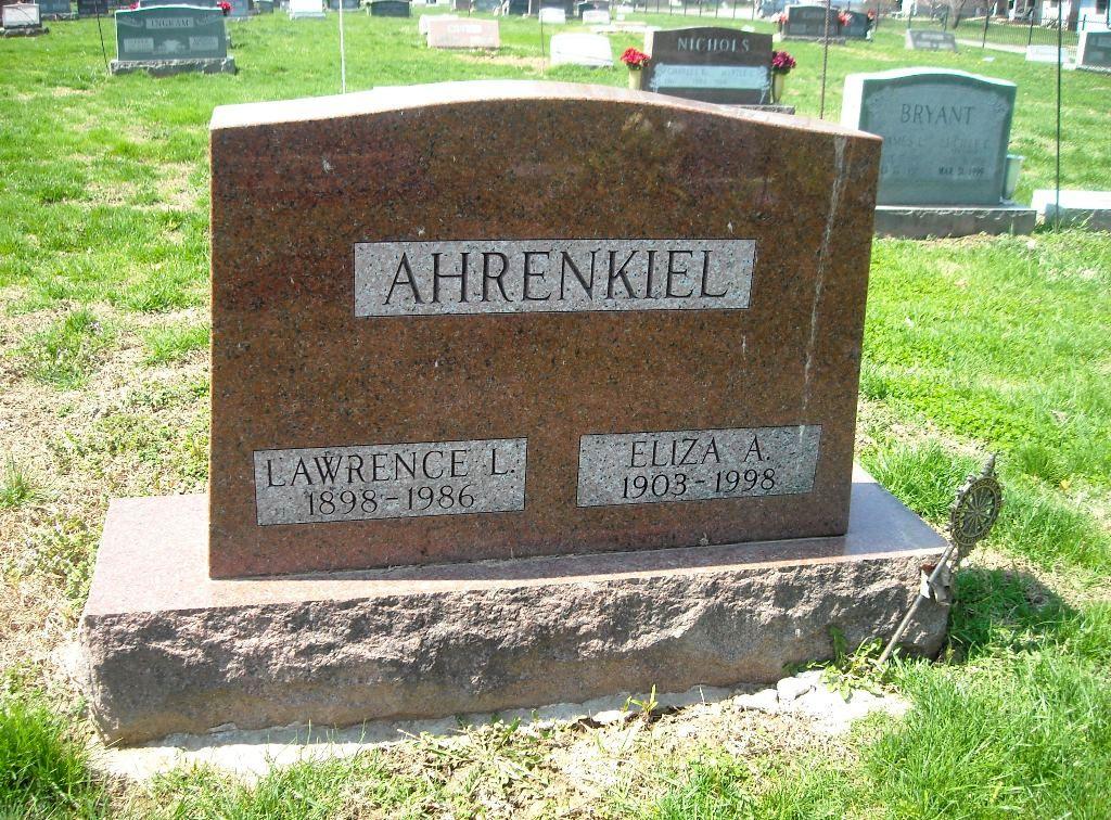 Eliza <i>Armstrong</i> Ahrenkiel