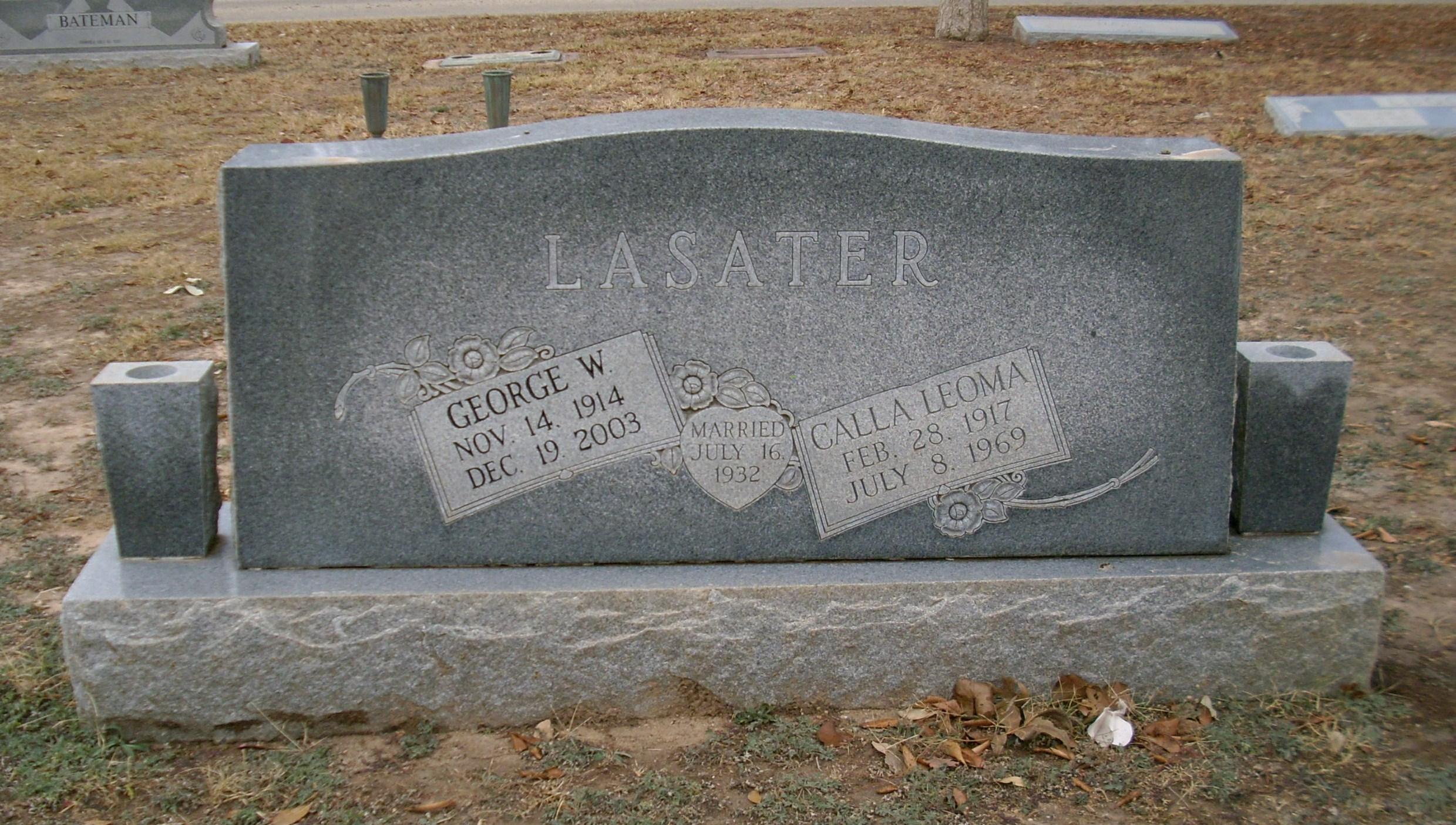 Calla Leoma <i>Linscomb</i> Lasater