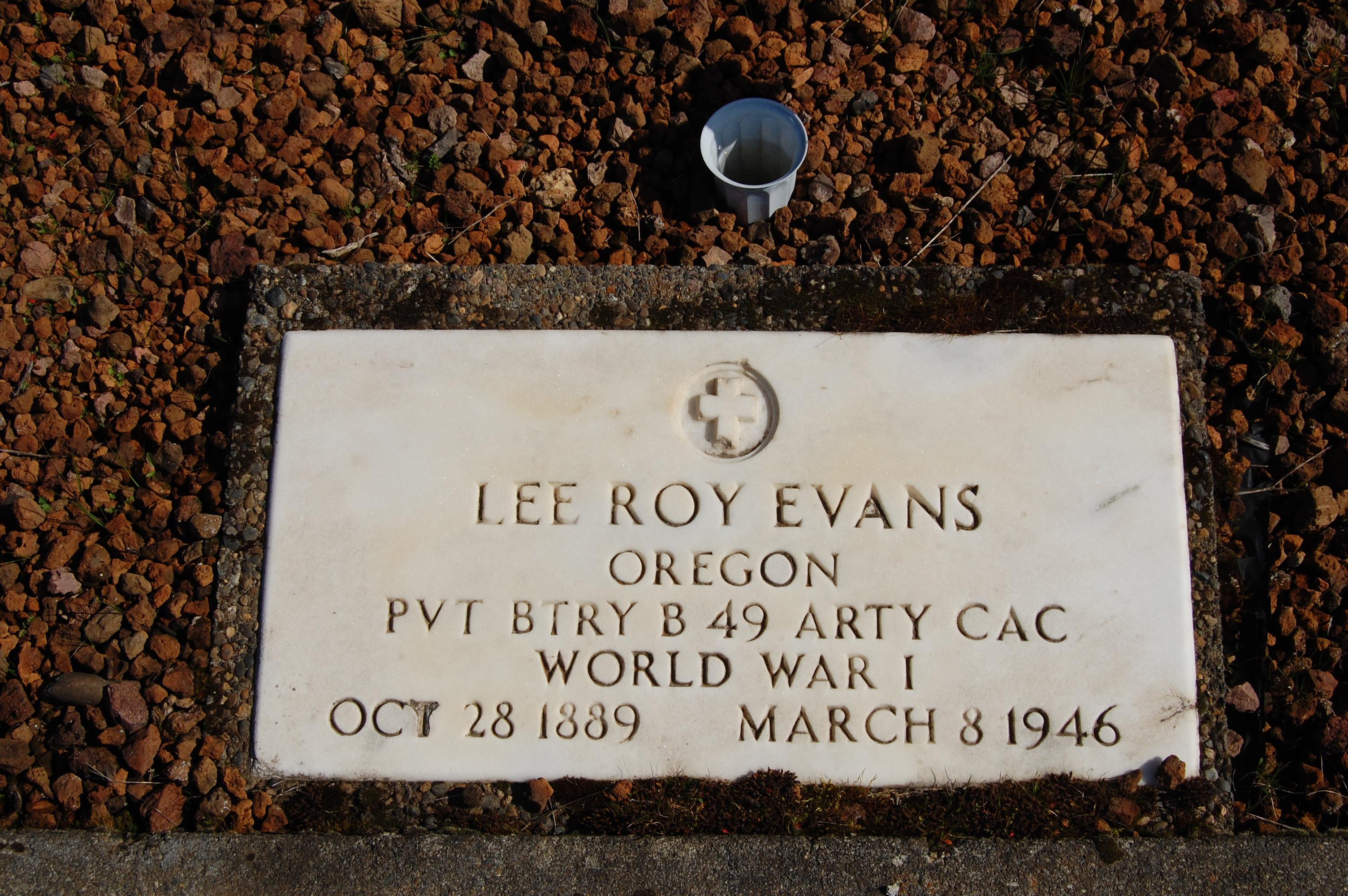 Lee Roy Evans