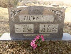 Bess B <i>Baker</i> Bicknell