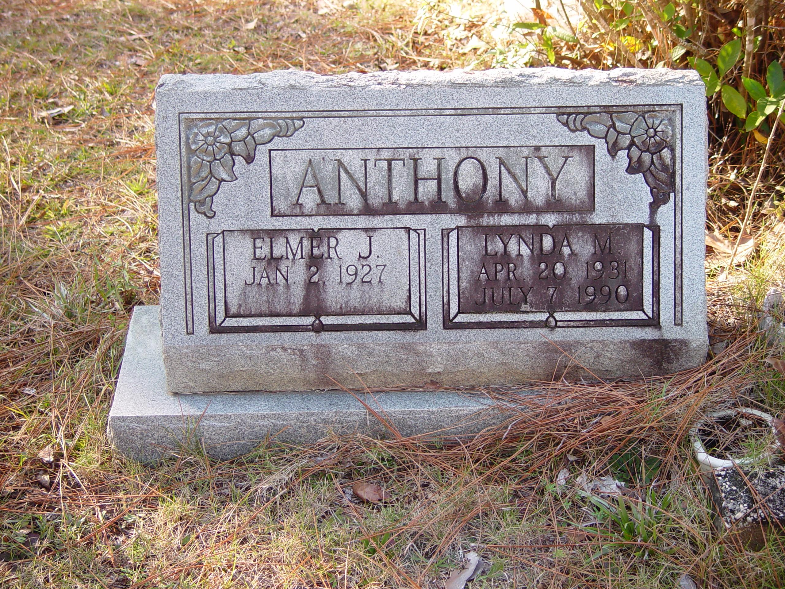 Lynda Mavis <i>Nowell</i> Anthony