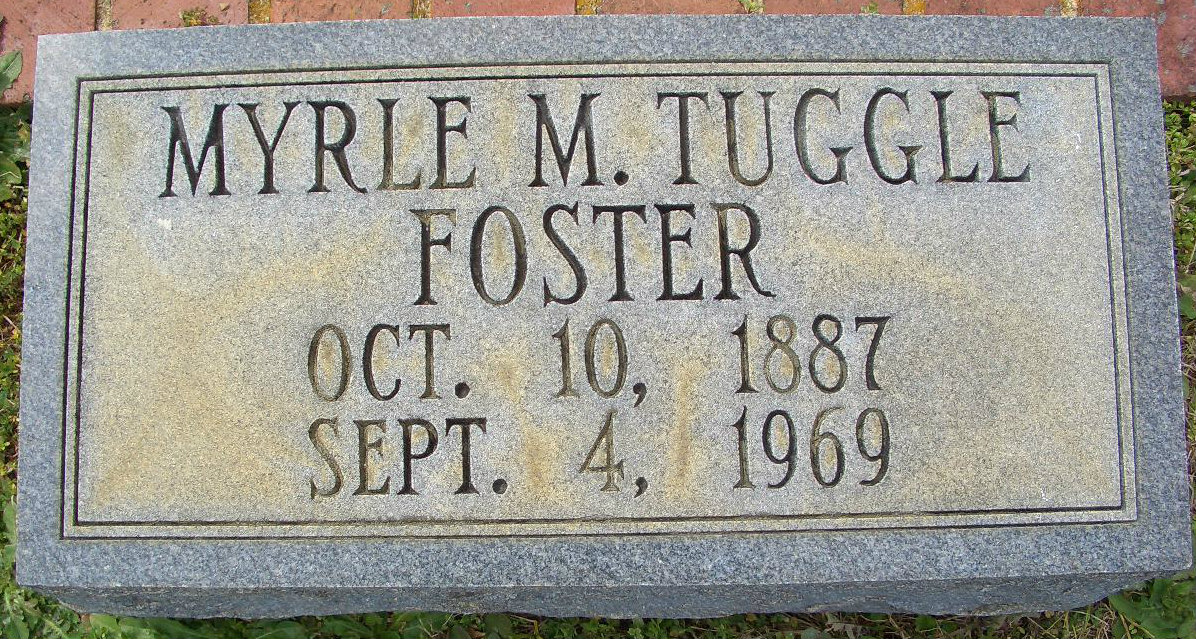 Myrle Mildred <i>Tuggle</i> Foster