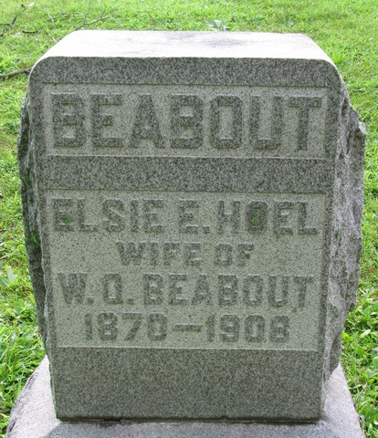 Elsie E. <i>Holiday</i> Beabout