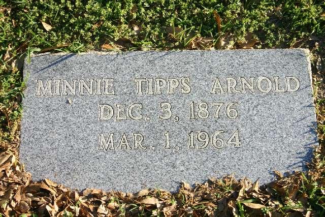 Minnie <i>Tipps</i> Arnold
