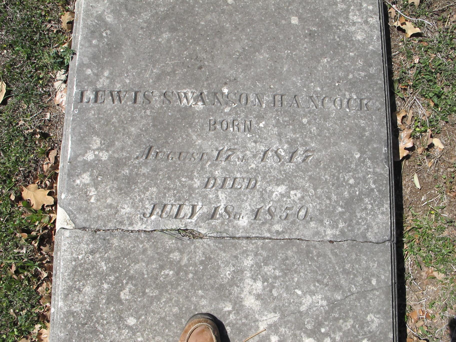 Lewis Swanson Hancock