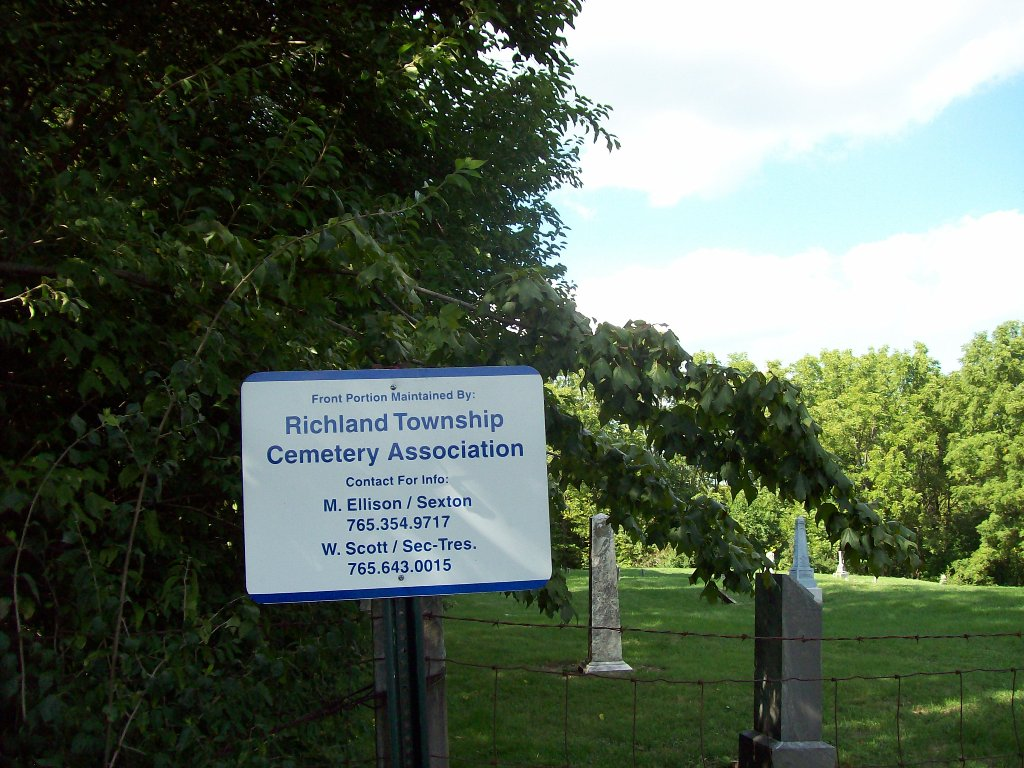 Richland Township Cemetery in Richland Township, Indiana