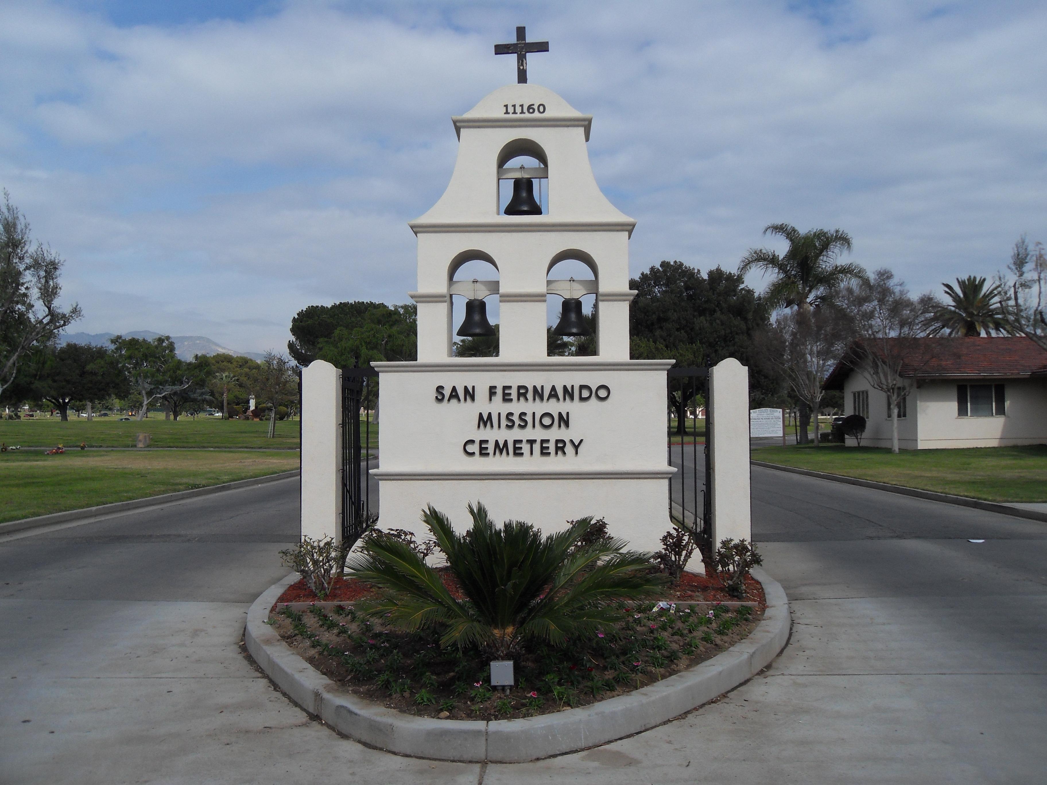 san fernando mission cemetery in mission hills california find