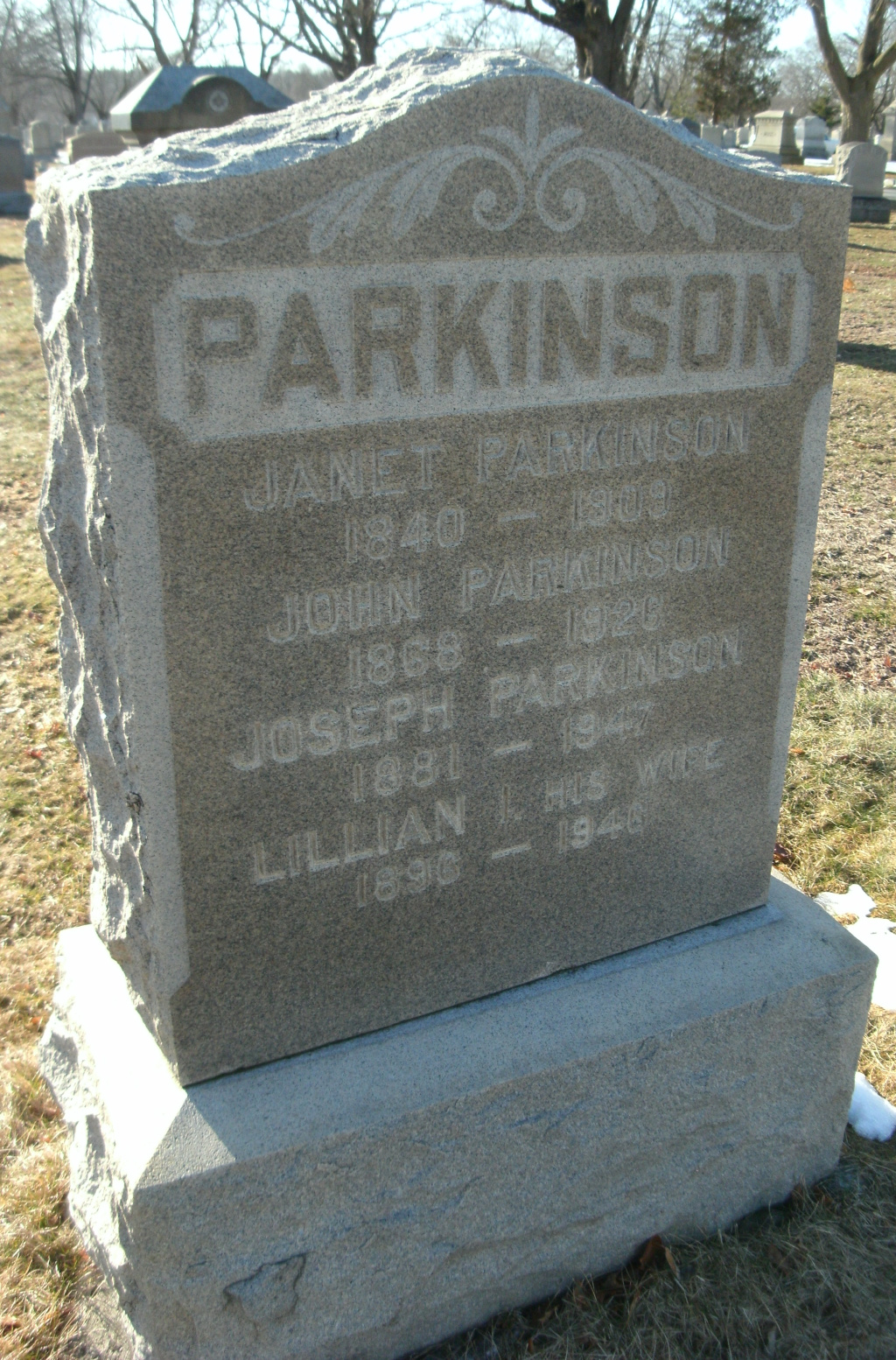 Lillian Irene <i>Knight</i> Parkinson