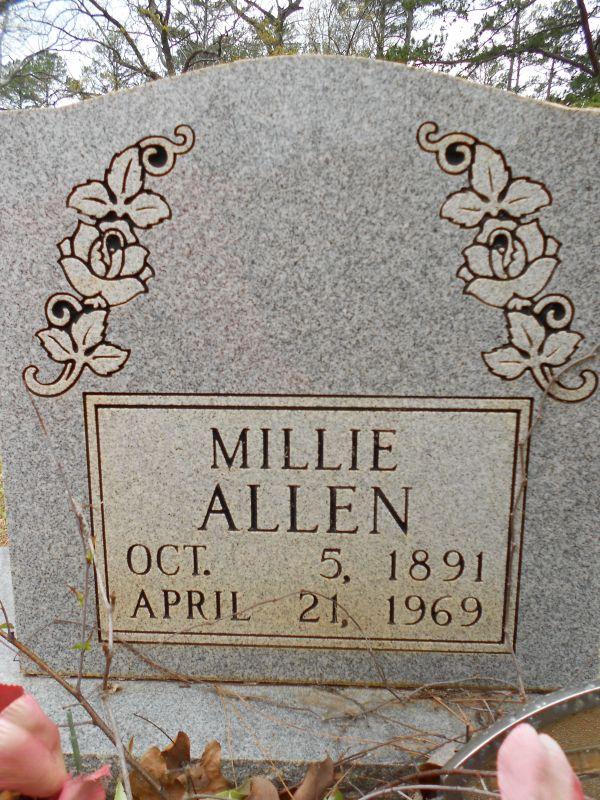 Millie <i>Grey</i> Allen