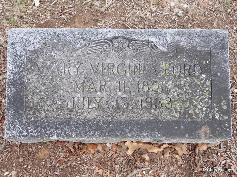 Mary Virginia <i>Longino</i> Ford