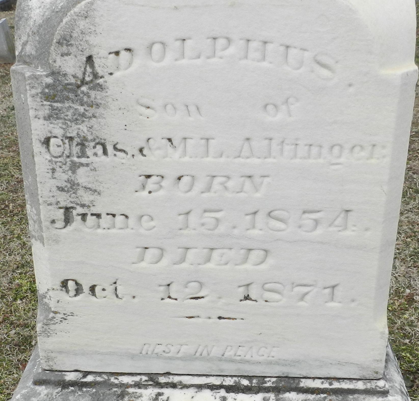 Adolphus Alfinger