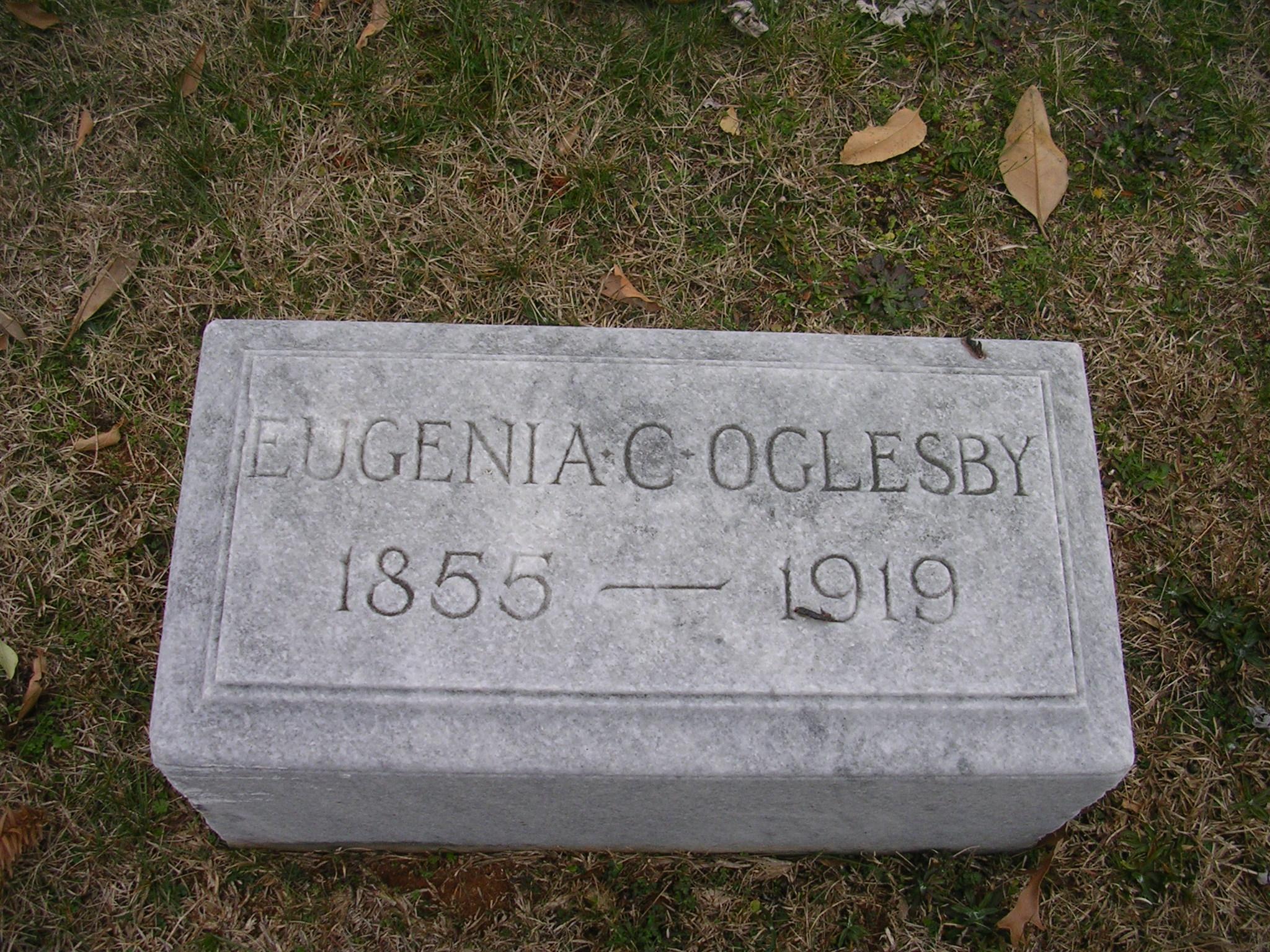 Eugenia Jennie <i>Cottingham</i> Oglesby