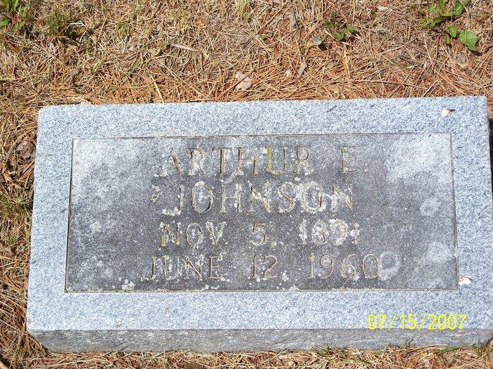 Arthur E Johnson