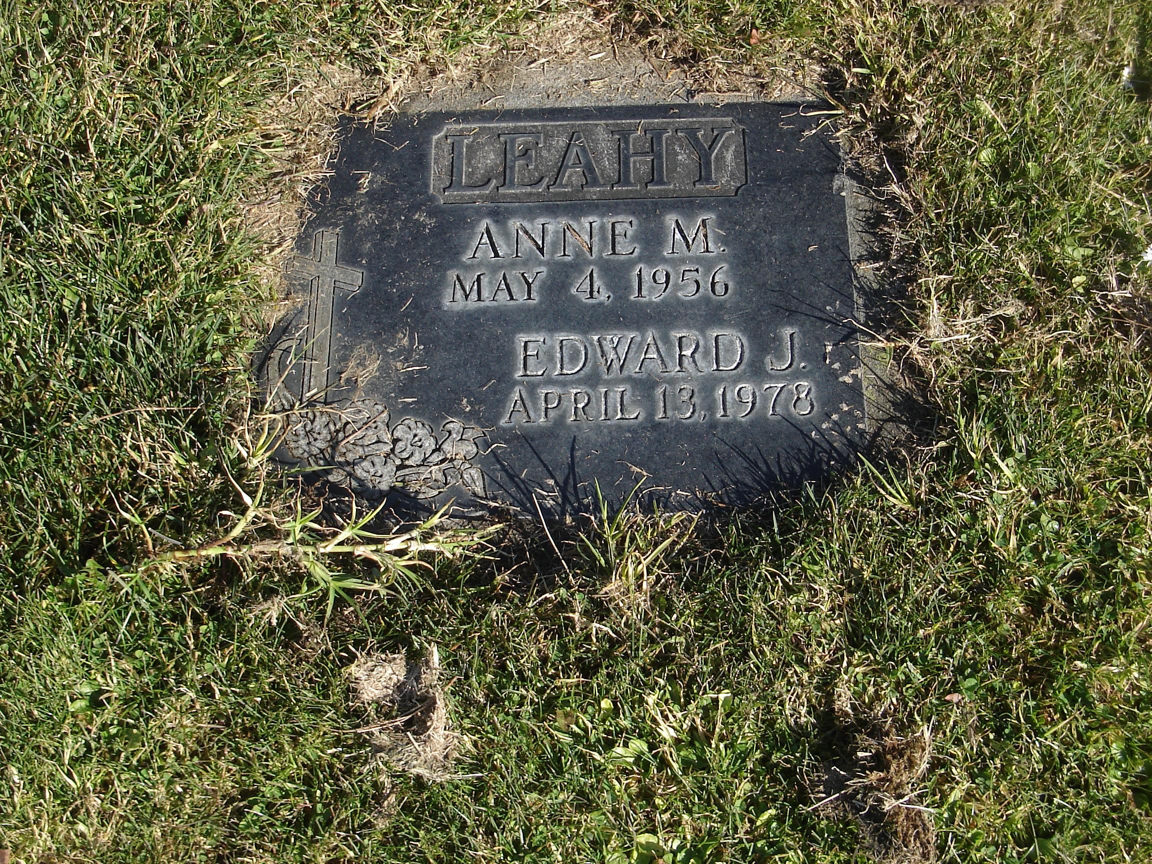 Anne M <i>St Leger</i> Leahy