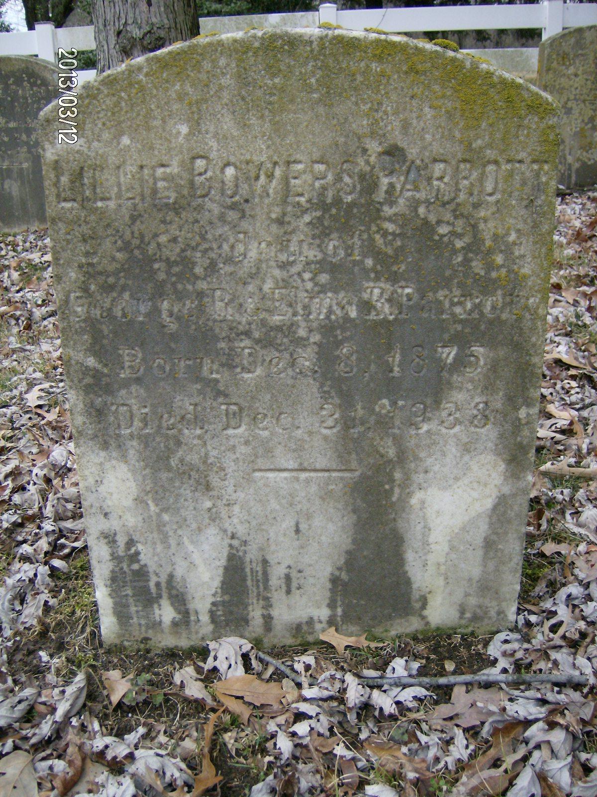 Lillie Bowers Parrott
