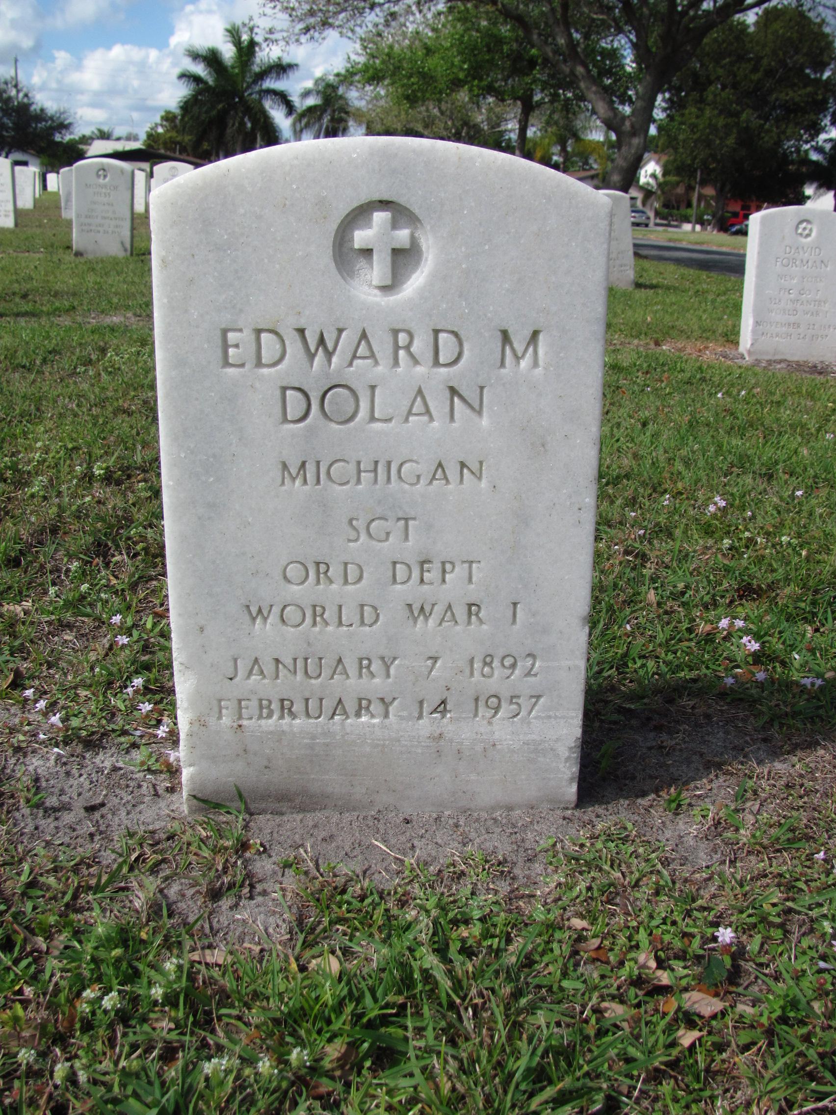 Edward M Dolan