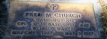 Fred M Church