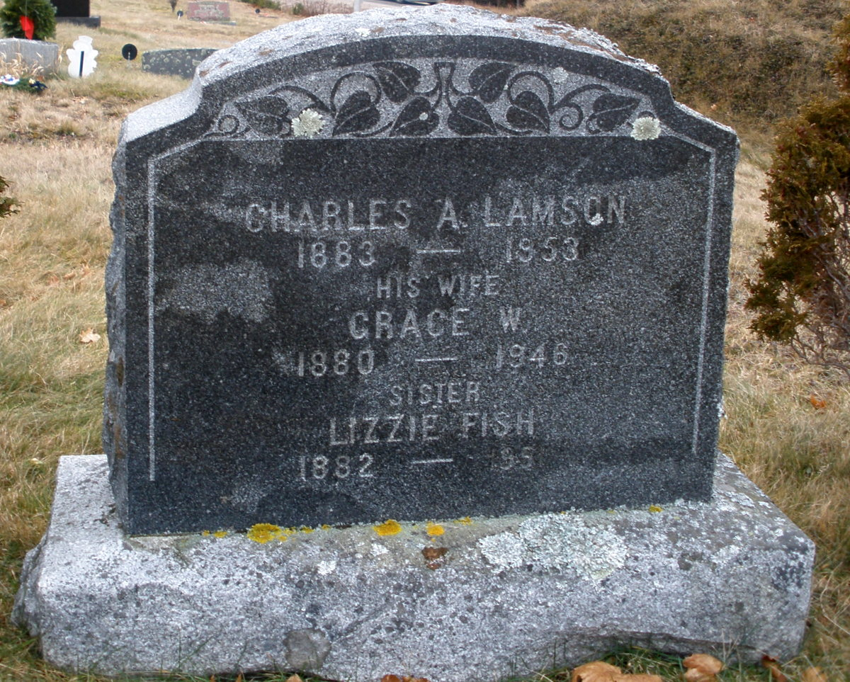 Grace Ann <i>Worcester</i> Lamson