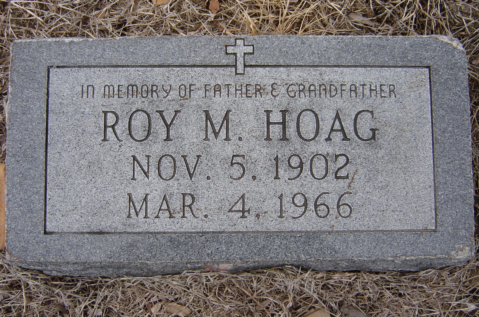 Roy Memory Hoag