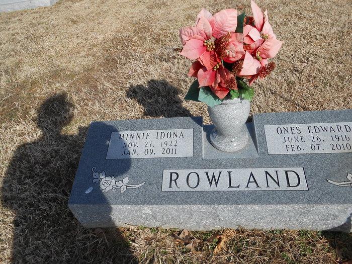 Minnie I. <i>Shipley</i> Rowland