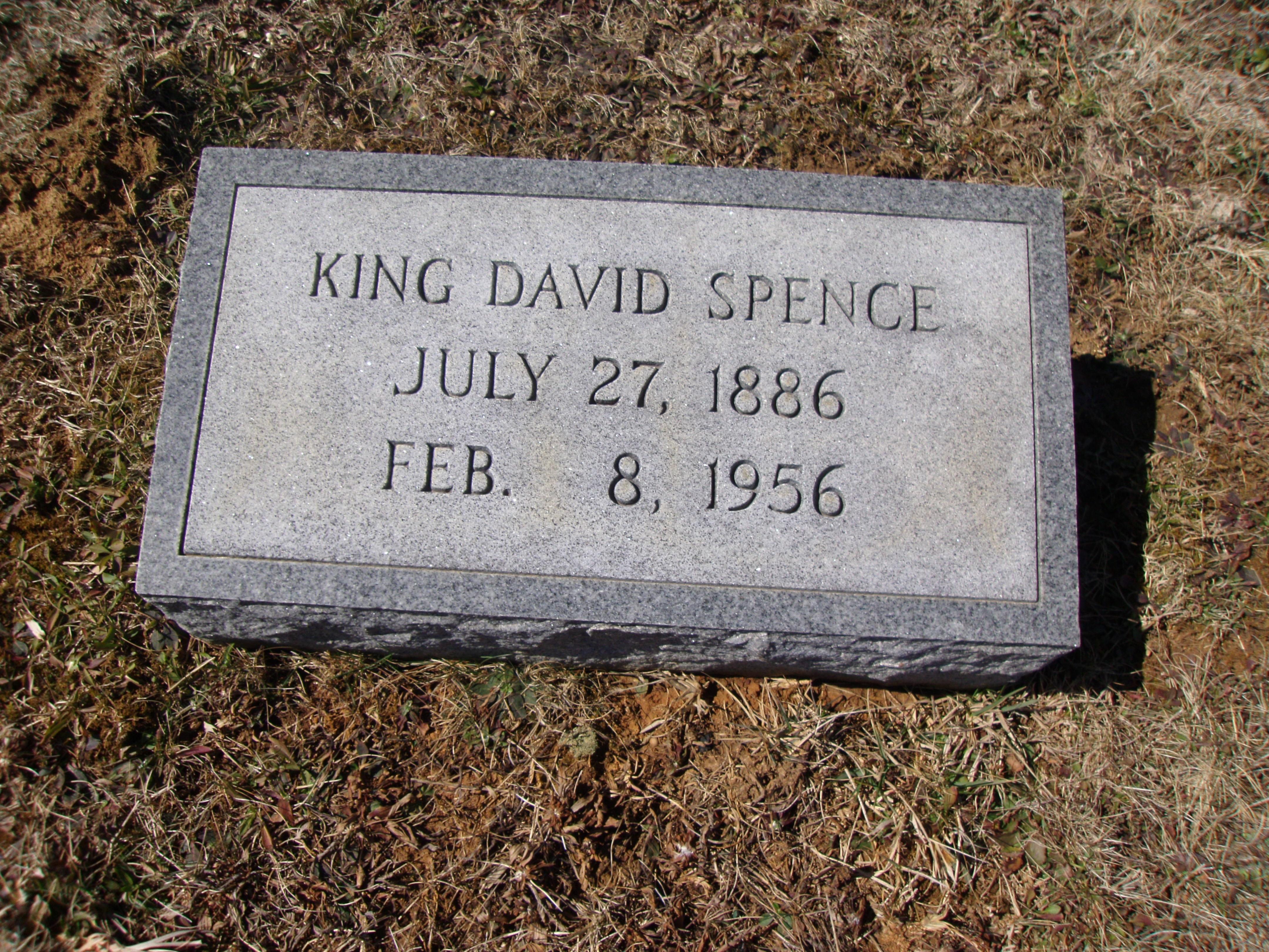 King David Spence