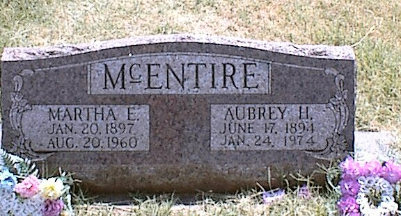 Martha Emeline <i>Bearden</i> McEntire
