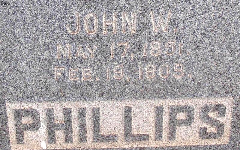 John W Phillips