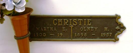 Martha Edna <i>Chipp</i> Christie