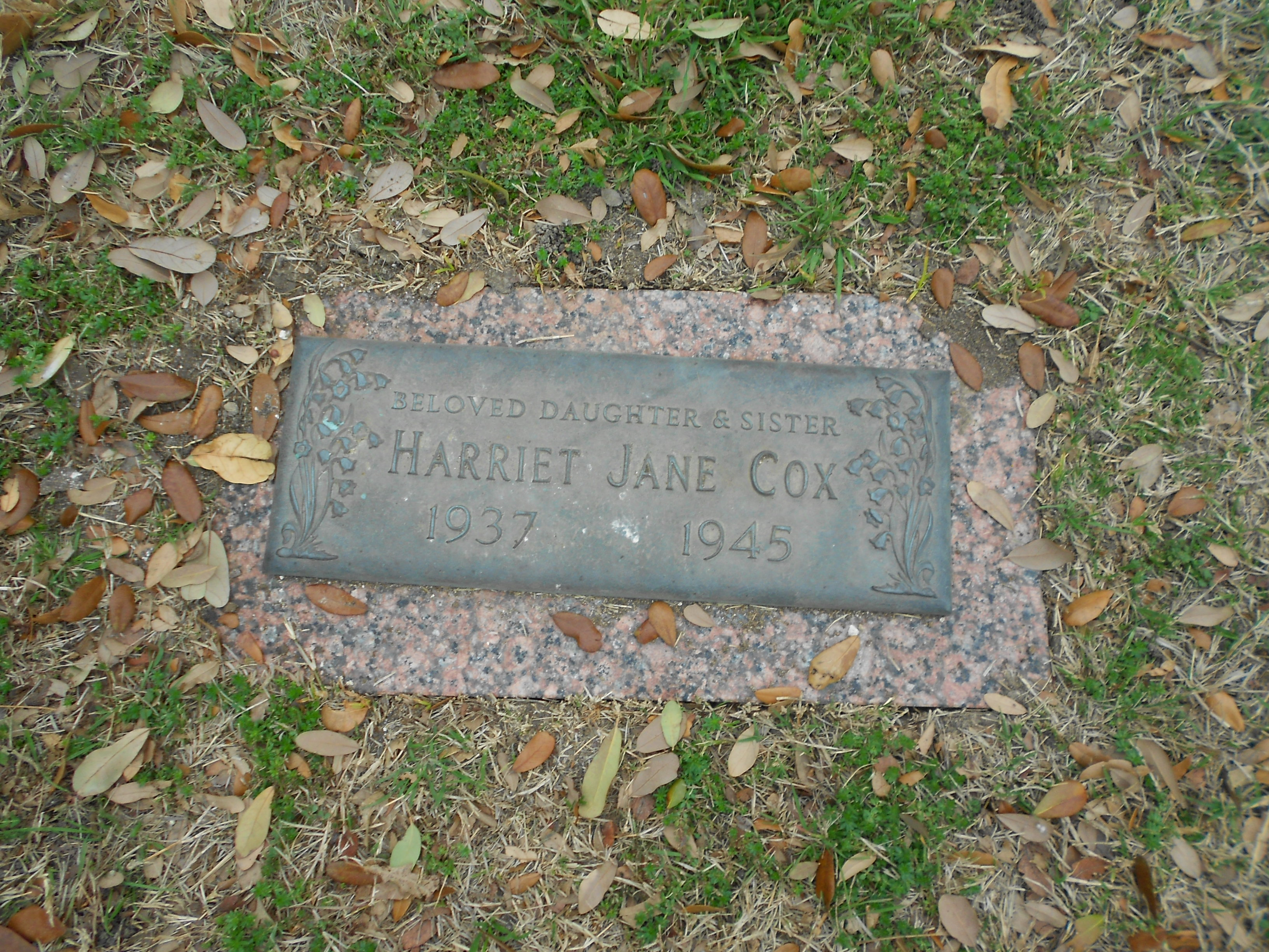 Harriet Jane Cox