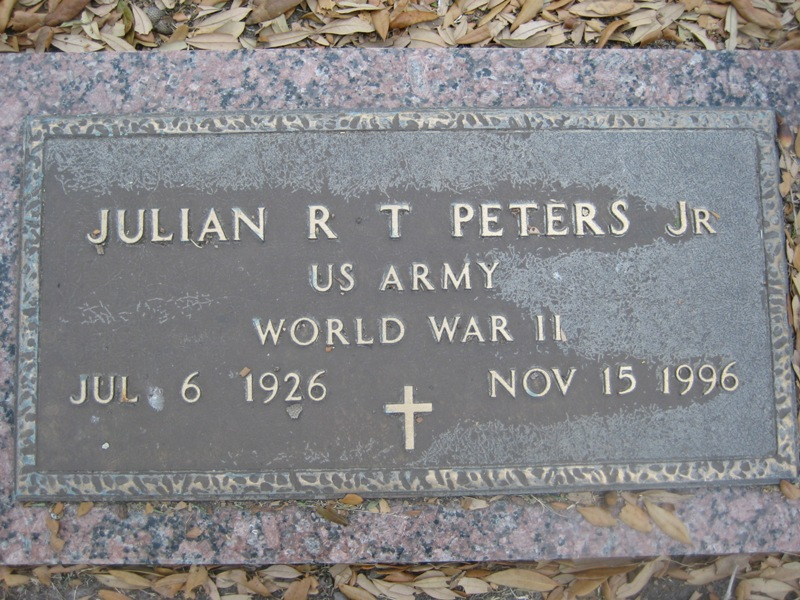Julian R T Peters, Jr