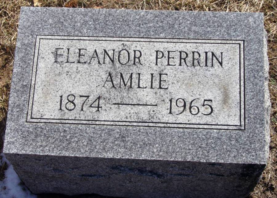 Eleanor <i>Perrin</i> Amlie