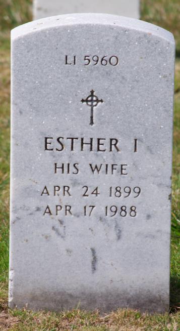 Esther I DeWolf