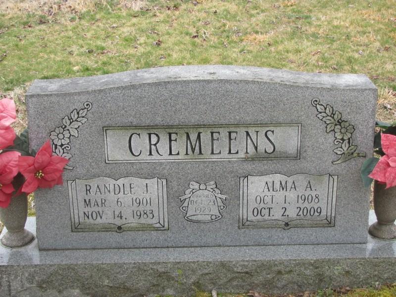Alma Atlas <i>Nimmo</i> Cremeens