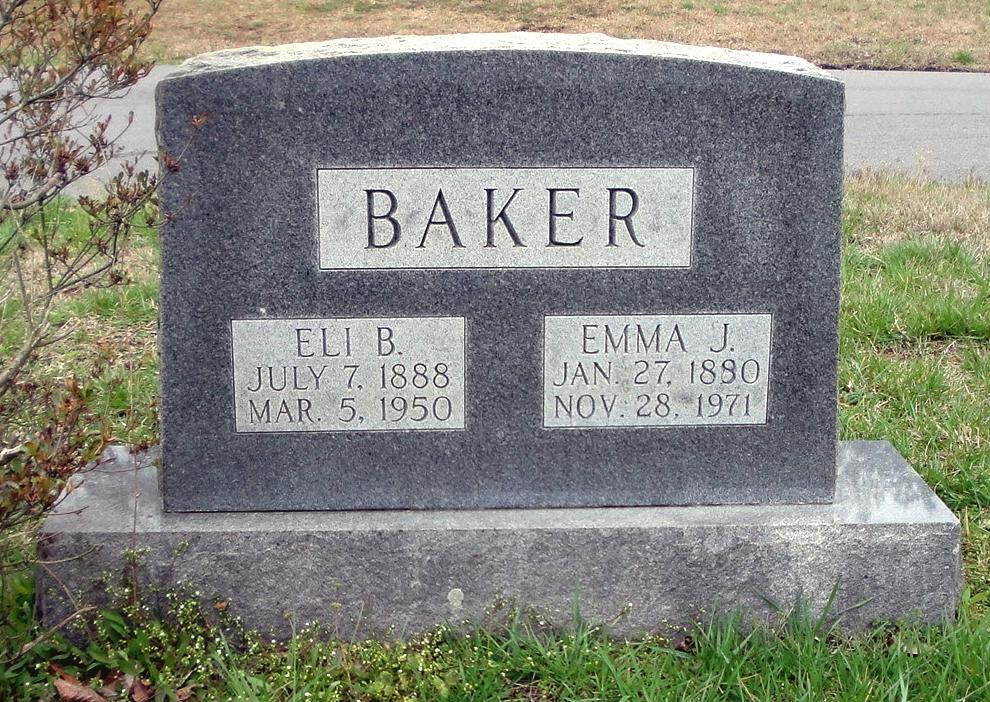 Emma Jane <i>Gazaway</i> Baker