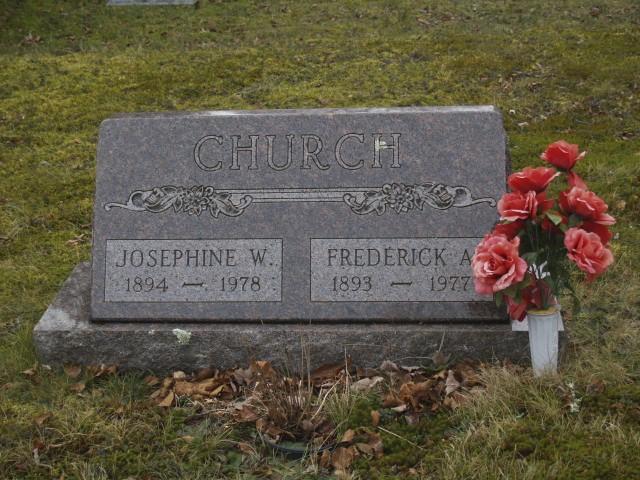Josephine Sawyer <i>Worcester</i> Church