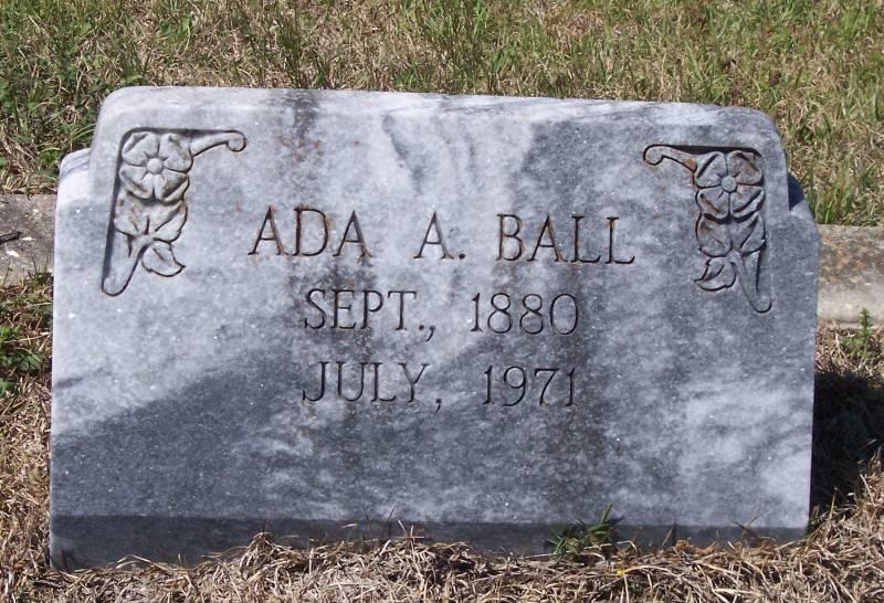 Ada Bell <i>Alford</i> Ball