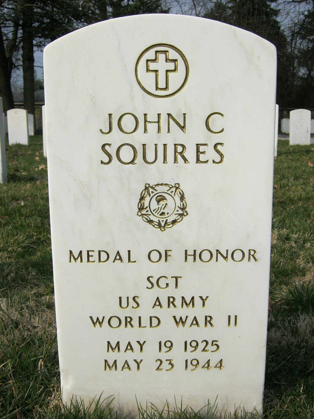 John C. Squires (1925-1944) - Find A Grave Memorial