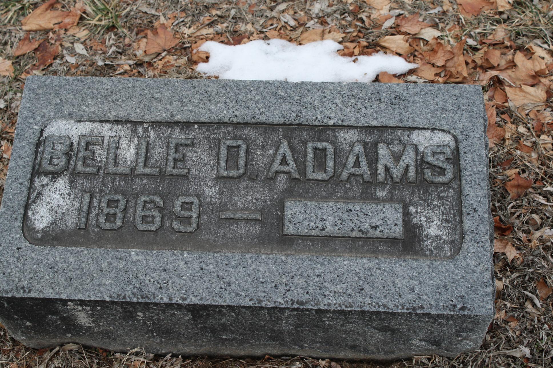 Belle <i>Dennison</i> Adams