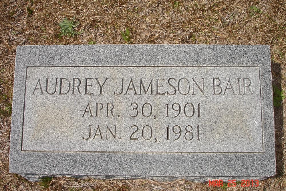 Audrey <i>Jameson</i> Bair